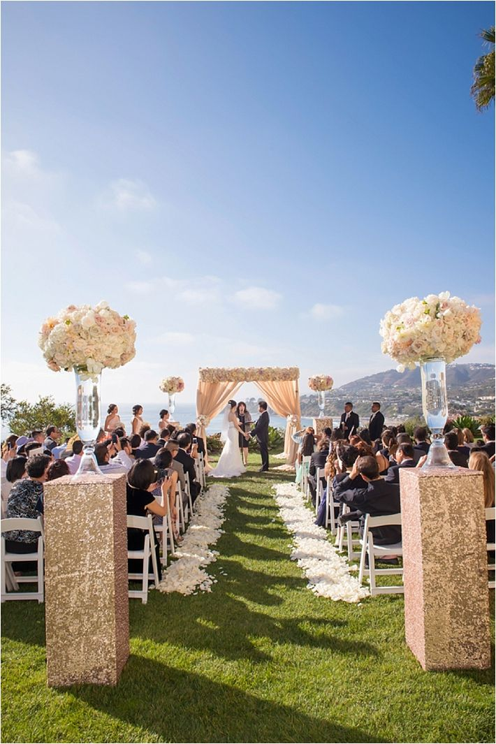 Luxurious Ritz Carlton Laguna Niguel Wedding