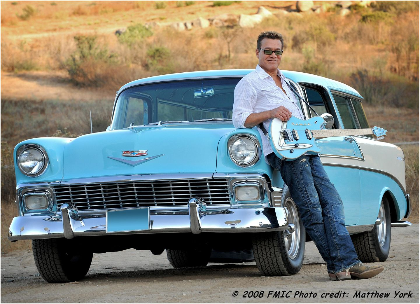Eddie Van Halen and his '56 Chevy Nomad Chevy nomad, Hot