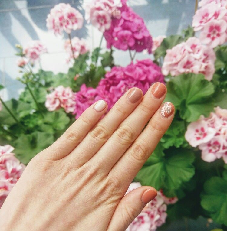 #nails#flower#