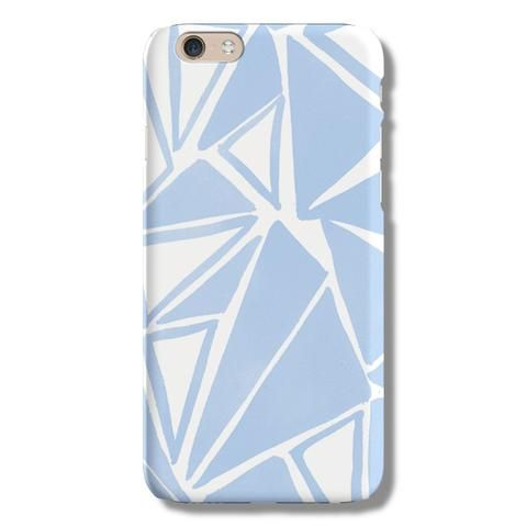 Geo Blue Triangle