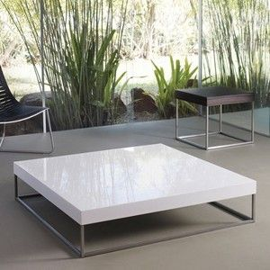 luxomodloft duke square coffee table - modern - coffee tables