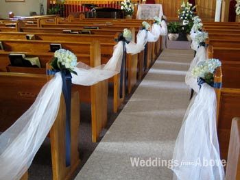 Church Wedding Decoration Ideas Using The Every Other Idea Keeps Cost Effective