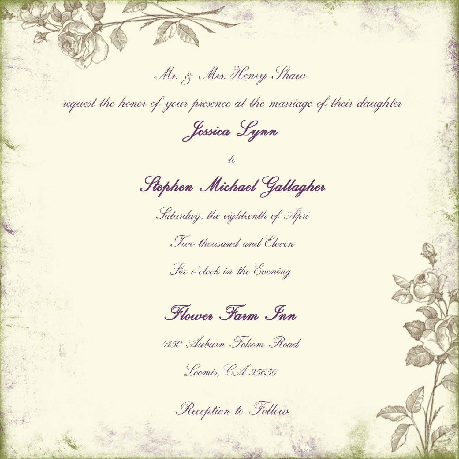 Wedding Invitation Etiquette HttpWwwMyweddingprinterCom