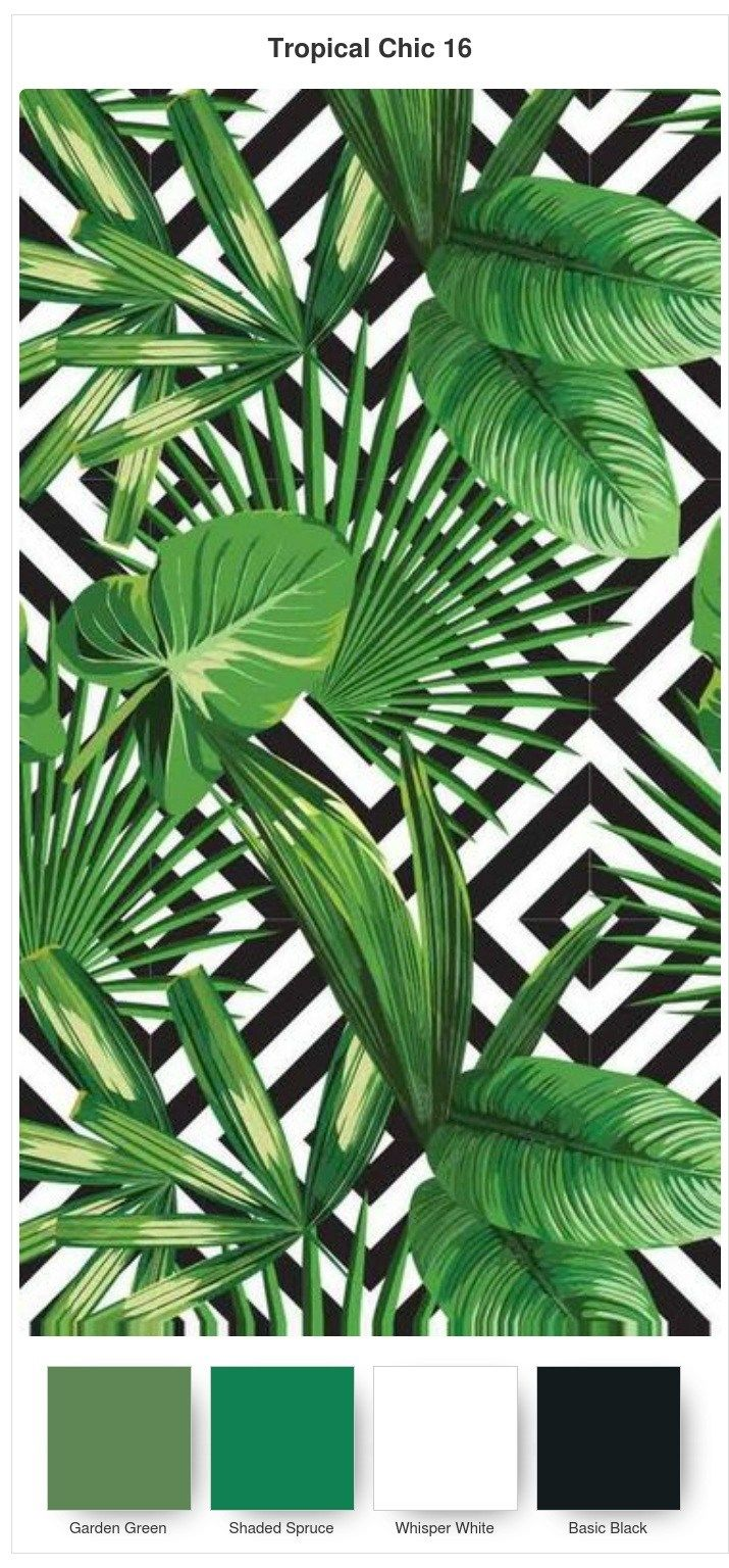 Colour Combinations for the Tropical Chic Bundle