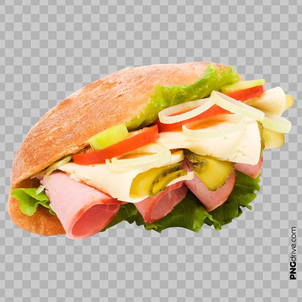 Pin By Png Drive On Sandwich Png Image Sub Sandwiches Sandwiches Food