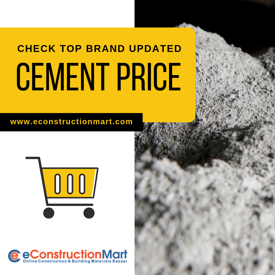 Check Top Brands Cement Price Cement price, Cement, Online