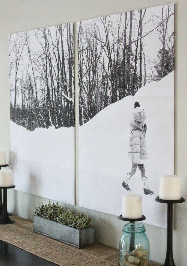 Beautiful Half Wall Decor