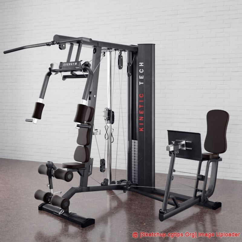 1540 Fitness Machines Sketchup Model Free Download Sketchup