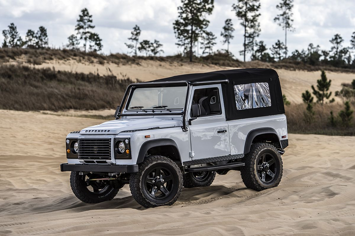 Meet The nd Turning Old Land Rovers Into Masterpieces | Land ...