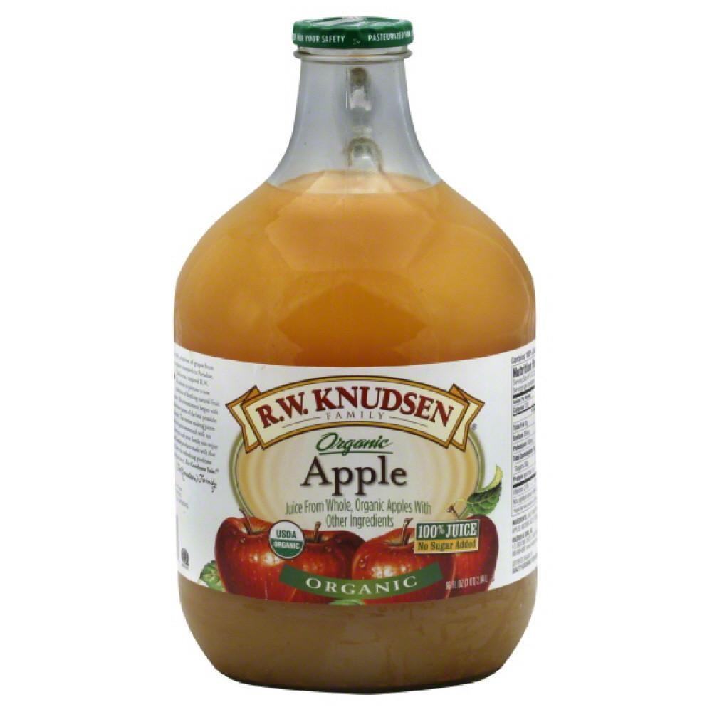 R.W. KNUDSEN Family Organic Apple Juice, 96 oz Apple