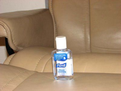 How To Remove Pen Ink From Leather Use Hand Sanitizer Going