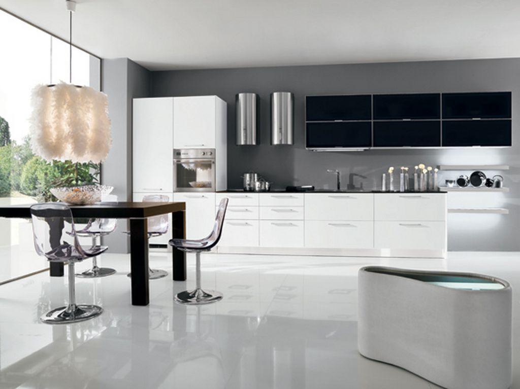 black kitchen interior design ideas:adorable kitchen astonishing kitchen  design with black white cabinet kitchen decoration and marble wallpaper al