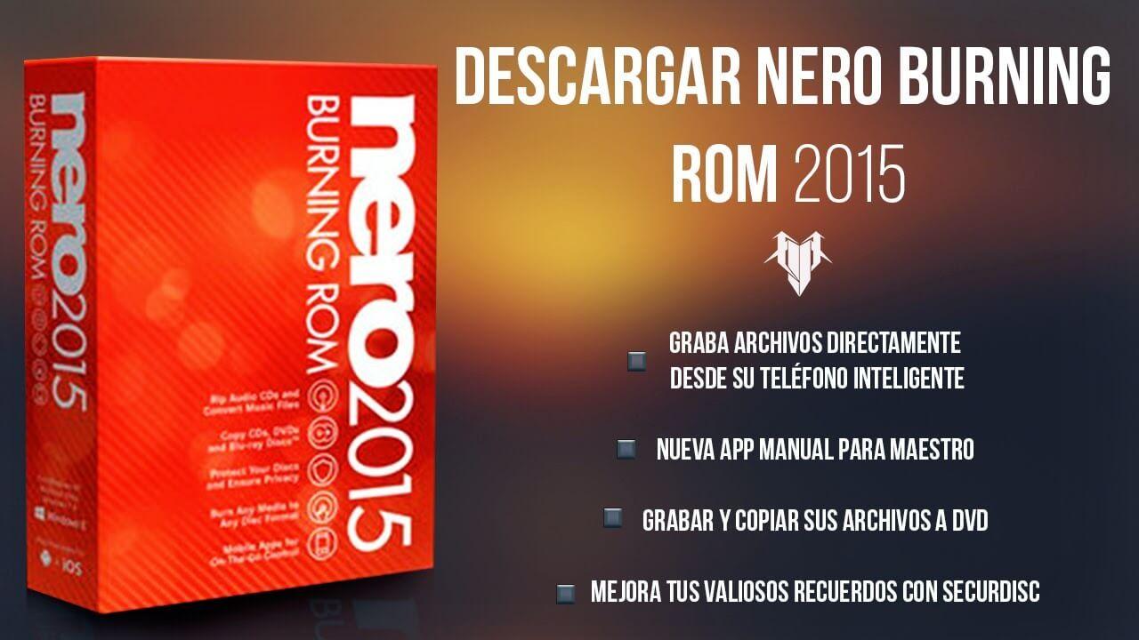 descargar nero express 2014 full español gratis