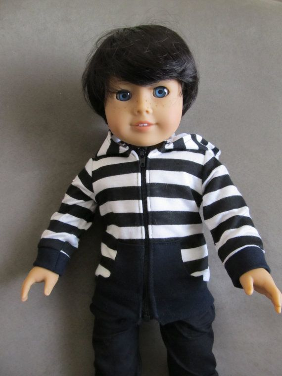 12bc48d92273a 3 day SALE American Girl Doll BOY Custom Caleb by The13BlackCats ...
