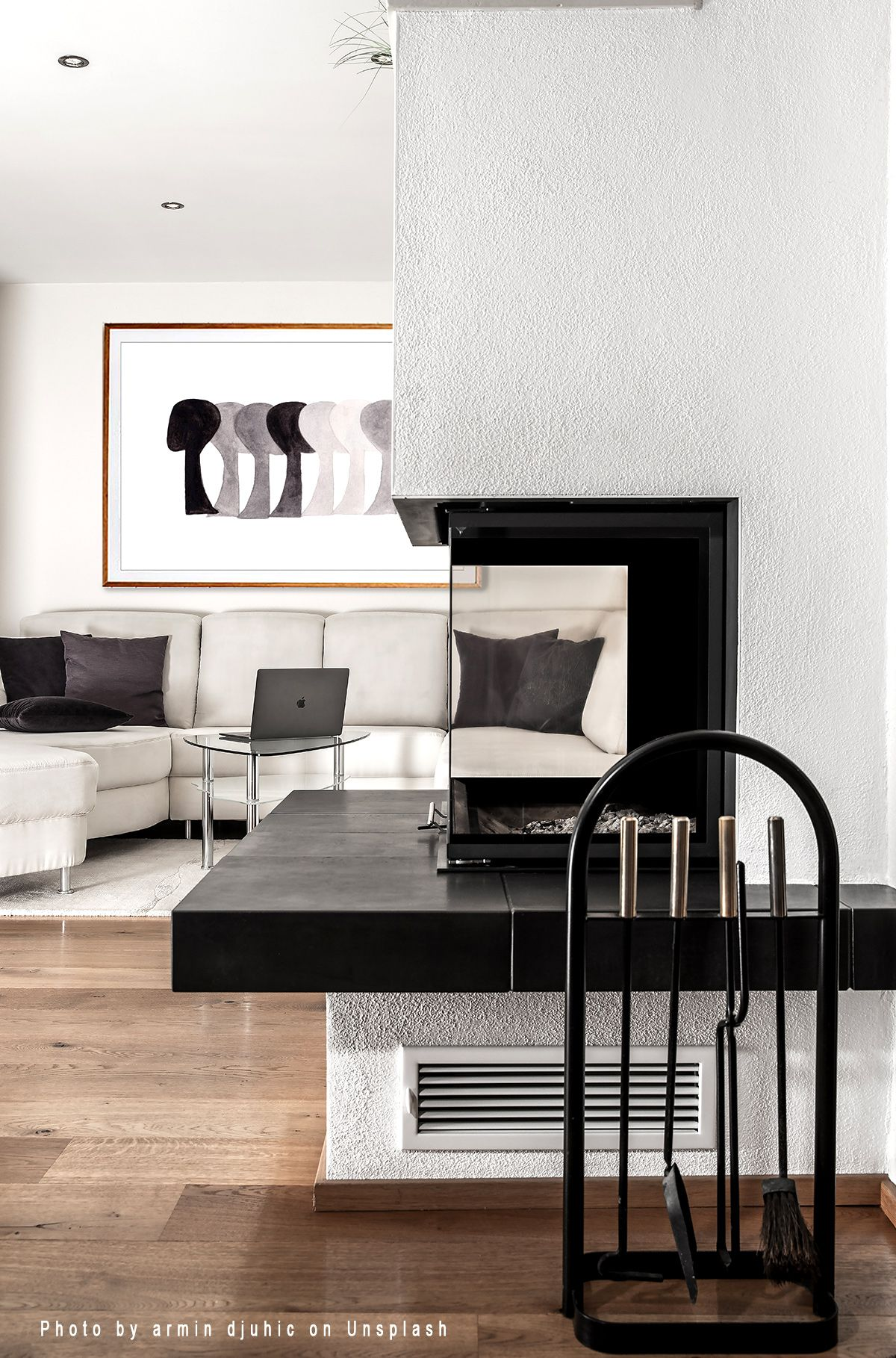 Abstract art black white prints black white wall art art modern