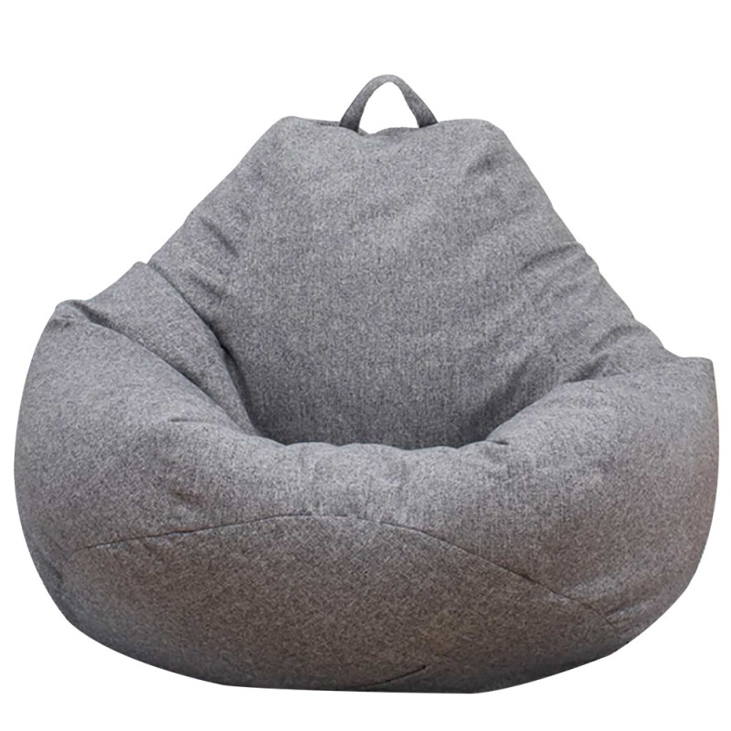 Fashion Large Bean Bag Sofa Cover Lounger Chair Sofa Ottoman Seat Living Room Furniture Cover Walmart Com In 2020 Bean Bag Chair Covers Bean Bag Chair Large Bean Bag Chairs