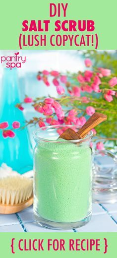 While Lush Cosmetics may be a great company that uses all organic products and never tests on animals, they can be a bit pricy and usually come in very small quantities. So, if you have ever wanted some Lush products but didn't want to spend too much money, you can make your own version of their ocean salt scrub by following this recipe!