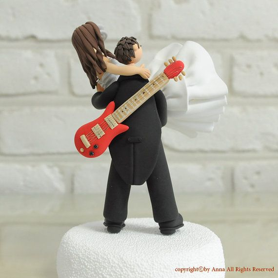 Guitar Guitarist Singer Musician Birthday Cake Topper Personalized
