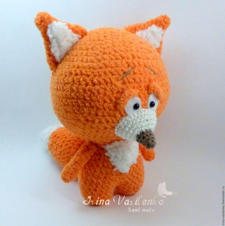 Купить Очень смущённый Лис - рыжий, оранжевый, fox ...