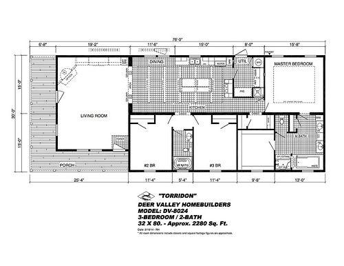 The Torridon By Deer Valley Home Builders Modular Home Floor Plans Mobile Home Floor Plans House Floor Plans