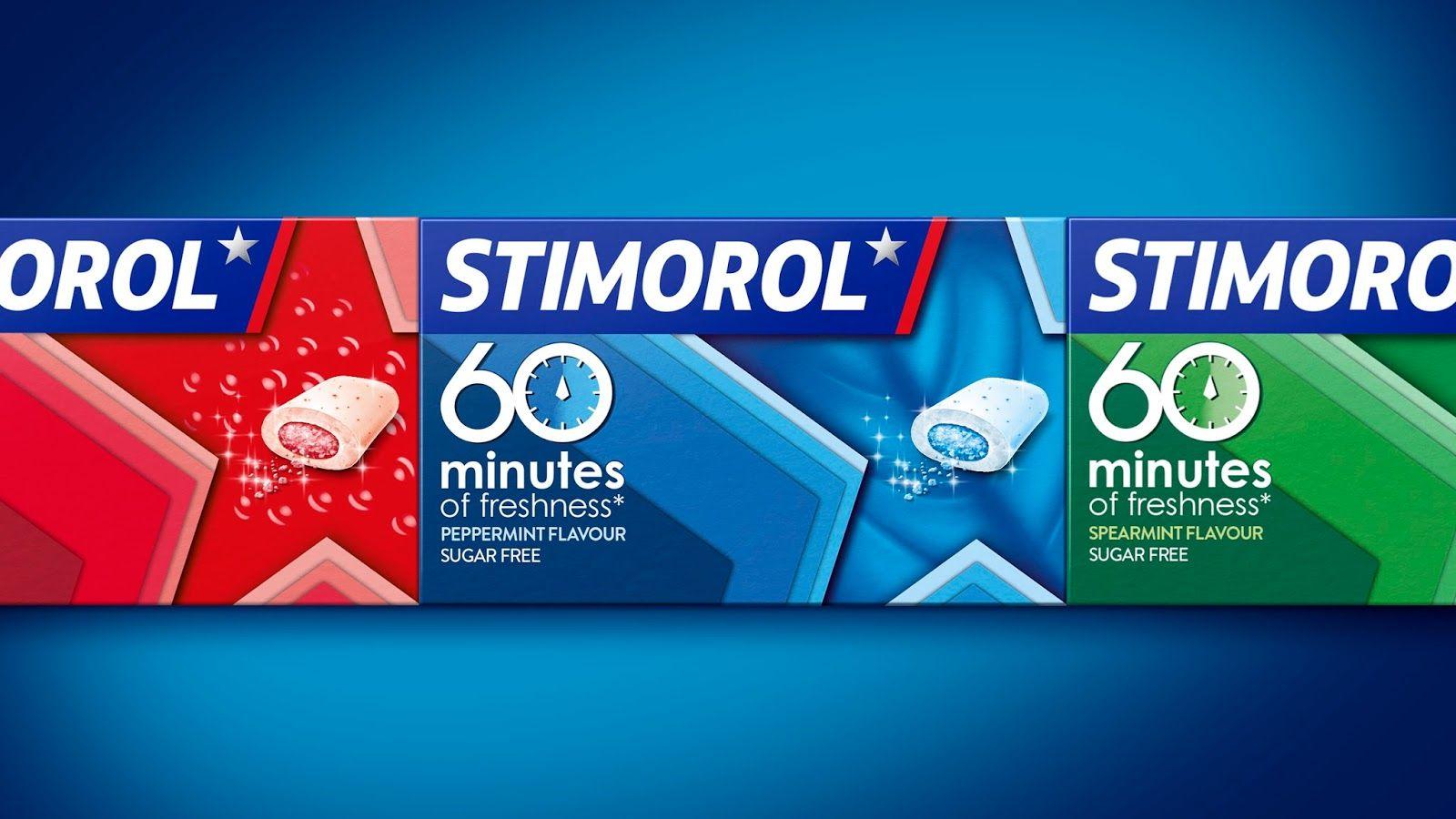 Stimorol Packaging design inspiration, Medical packaging