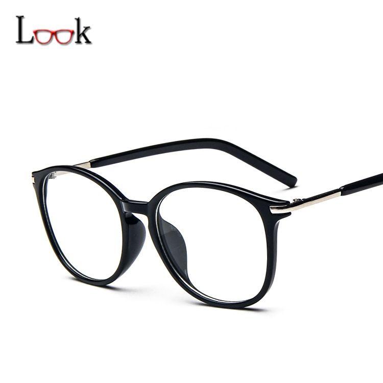 2017 New Fashion Optical Glasses Frame Women Men Lentes Opticos ...