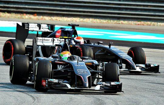 Sauber team