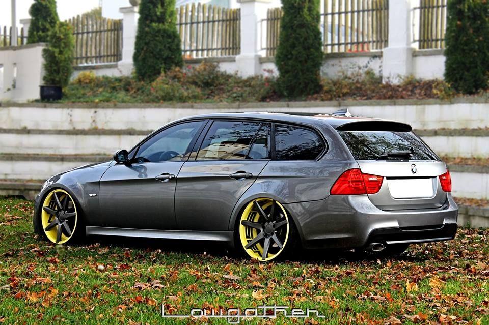 BMW 3 Series Wagon - CV7 | The Ultimate Driving Machine | Pinterest ...