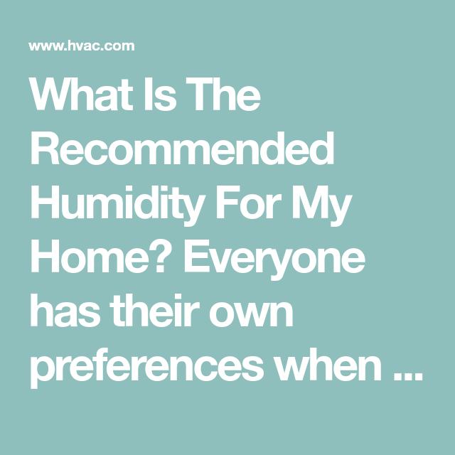 Ideal Humidity Level For Your Home In Winter Humidity Levels Relative Humidity Protecting Your Home