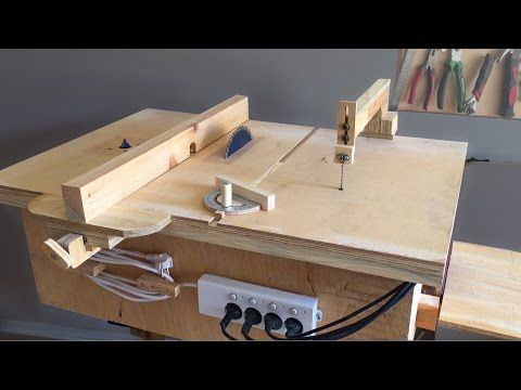 Homemade 4 in 1 workshop table saw router table disc sander homemade 4 in 1 workshop table saw router table disc sander jigsaw table keyboard keysfo Choice Image