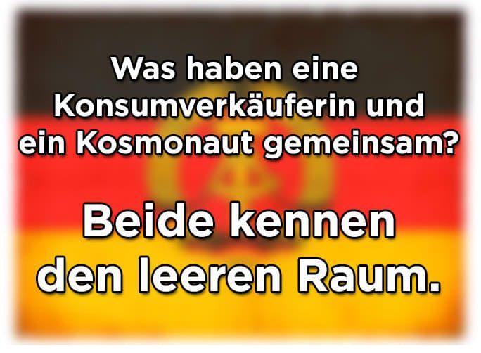 16 Witze Die Nur Ostdeutsche Verstehen Witze Sprüche Und