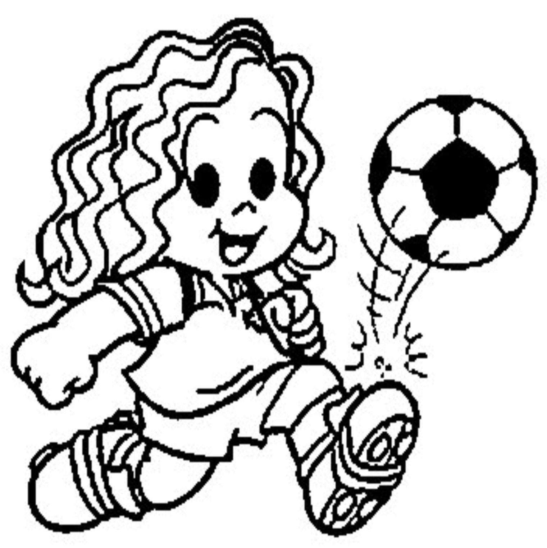 Marina Jogando Futebol Com Imagens Desenho De Crianca Futebol