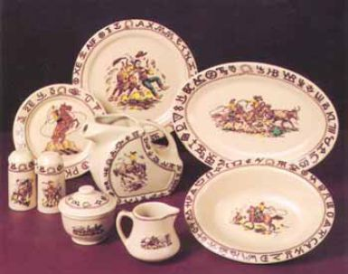 Cowboy China Old Patterns Copied - Vintage Look Imitated & Cowboy China: Old Patterns Copied - Vintage Look Imitated | Vintage ...