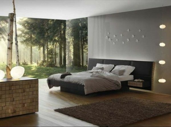 chambre a coucher homme nature | BEDROOM | Pinterest | Bedrooms