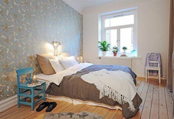 AuBergewohnlich Schlafzimmer Gestalten Im Skandinavischen Stil Gemütliche Beleuchtung   Schlafzimmer  Gestalten