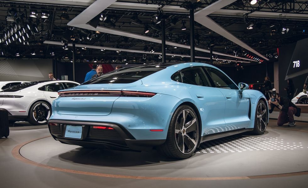 View Photos of the 2020 Porsche Taycan 4S Porsche taycan