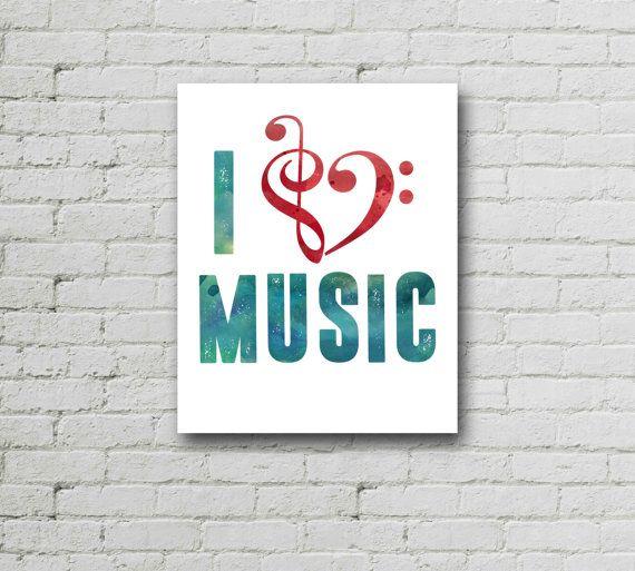 Band Poster, Band Poster, I Love Music, Band Teacher Gift