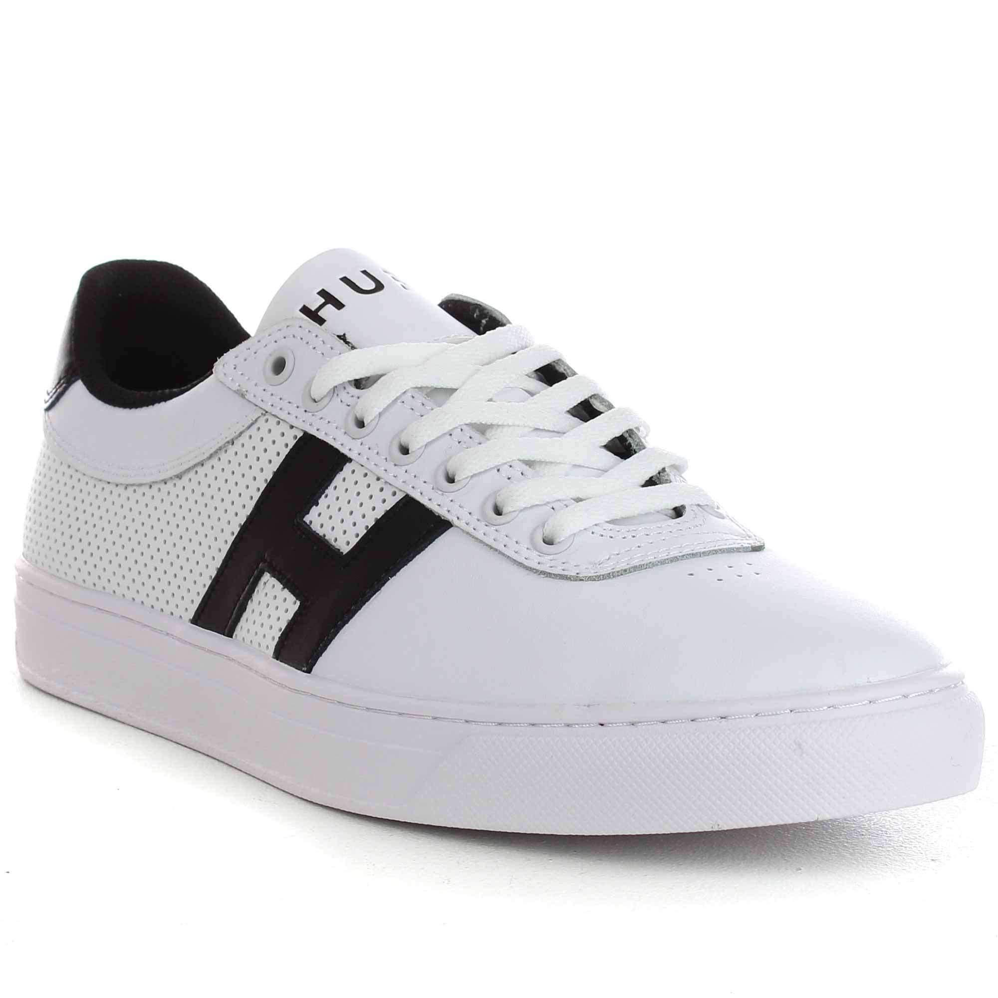 HUF Soto Shoes in White Black Black | Shoes, Huf, Mens skate
