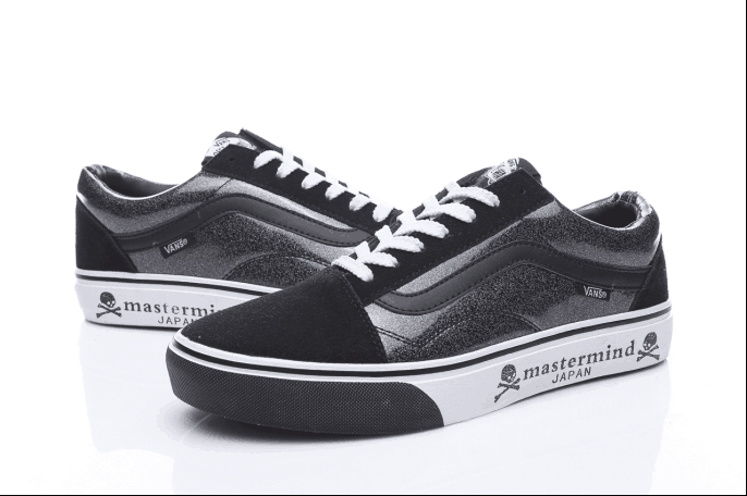 c0b58efc004 Vans Mastermind JAPAN Old Skool Classic Black White Womens Shoes  Vans