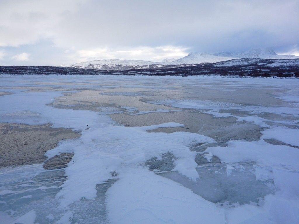 Lac gelé Abisko