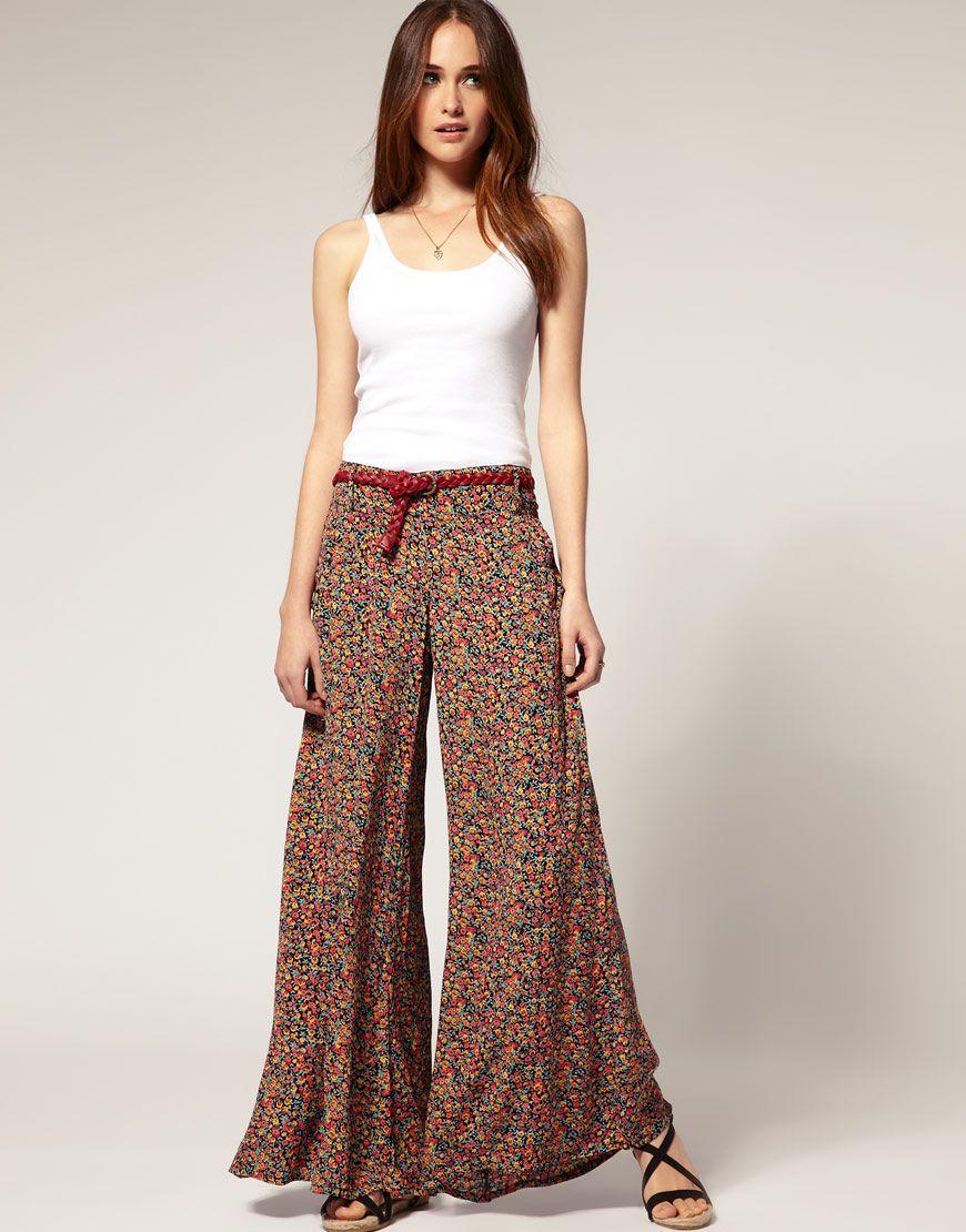 Palazzo-pants | 9A Spring Fashion | Pinterest | Palazzo Palazzo pants and Palazzo trousers
