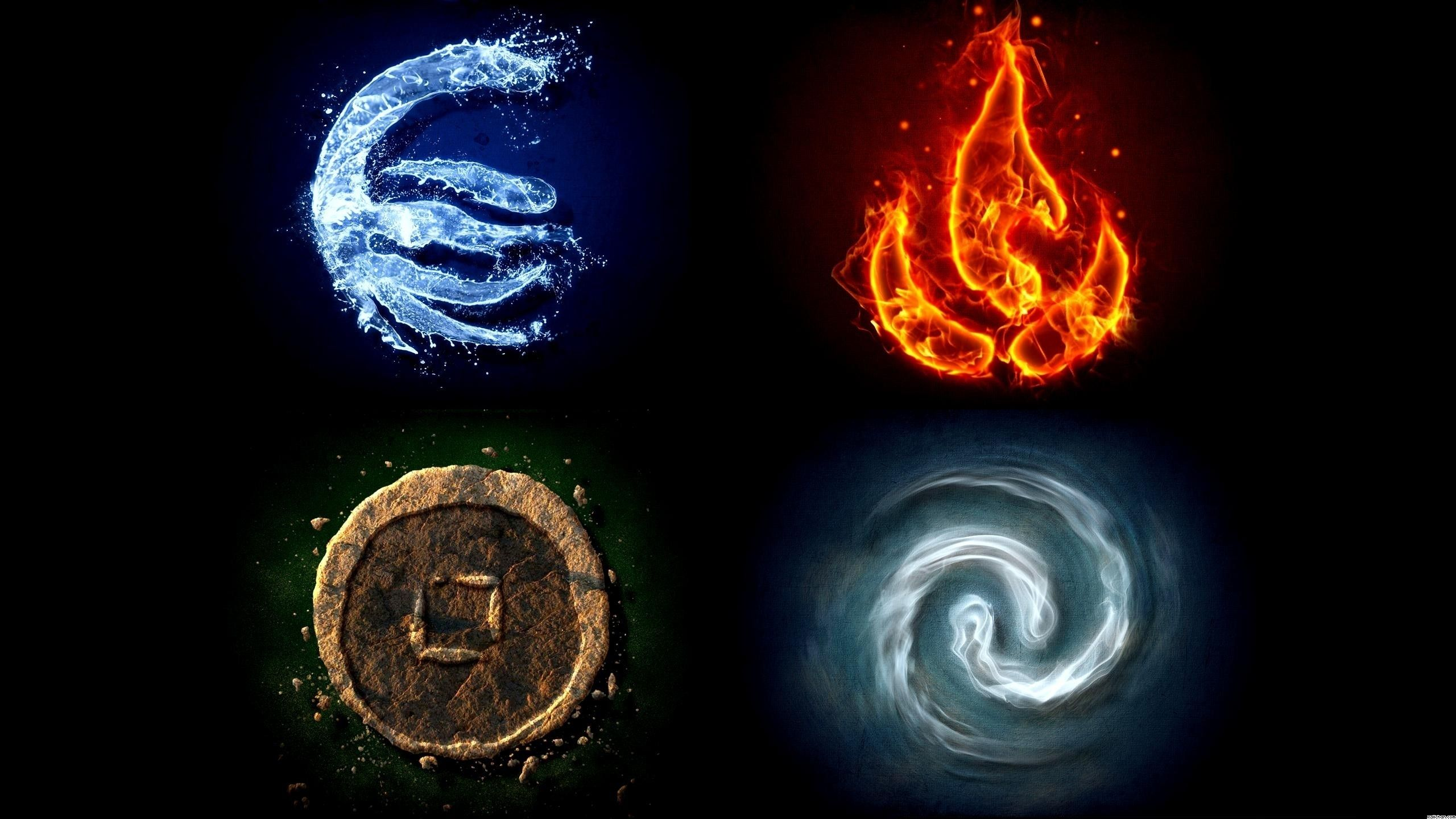 Earth Water Fire Air Avatar The Last Airbender Wallpaper Earth Water Fire Air Avatar The Last Airben Types Of Dragons Earth Air Fire Water What Element Are You