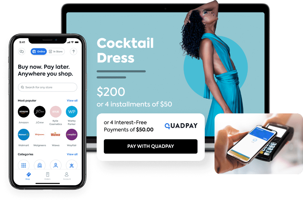 Quadpay Buy Now Pay Later Split Any Purchase In 4 Stuff To Buy Buy Now Splits