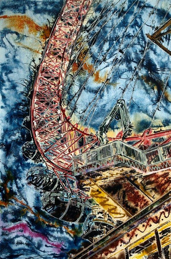 London Eye Saturday Night Live Art Show in 2020 New
