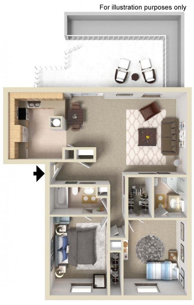 River Road Apartments For Rent In Indianapolis In Forrent Com Small Apartment Plans Sims House Design Sims House Plans