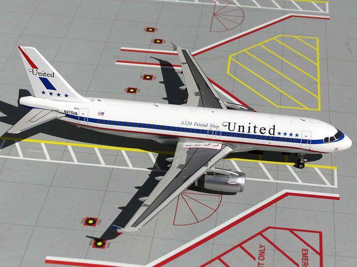 Details about GEMINI 200 1/200 UNITED A320 1/200 REG#N404UA NEW