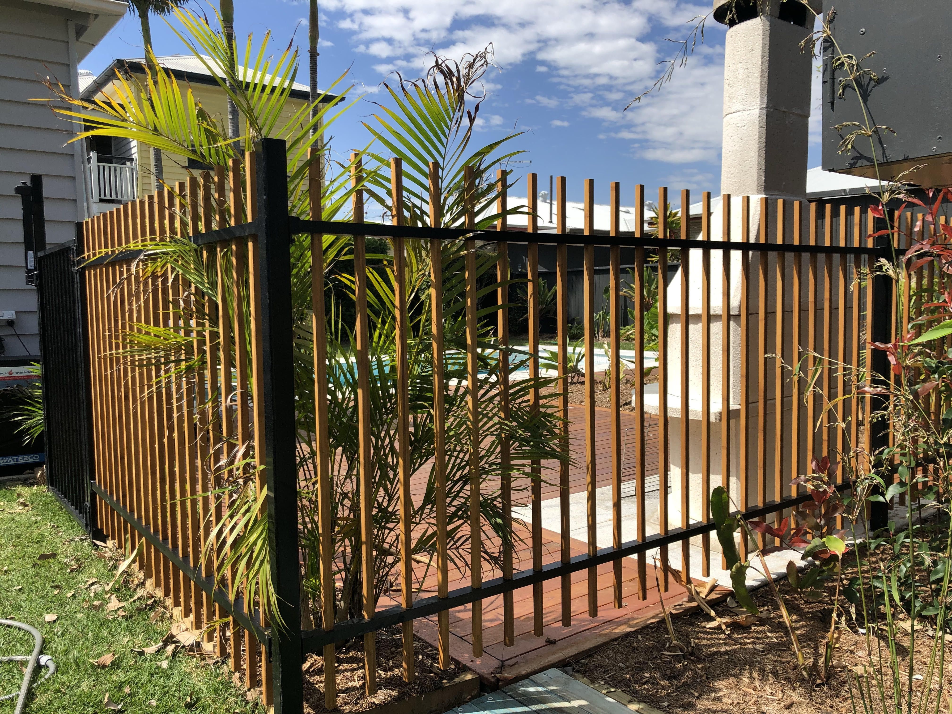 Latest Design In Pool And Boundary Fencing The Hybrid Fence And