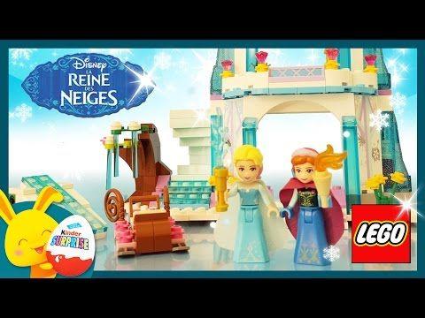 LEGO - Reine des Neiges Palais de Glace -Jouets Disney Princesses - Titounis