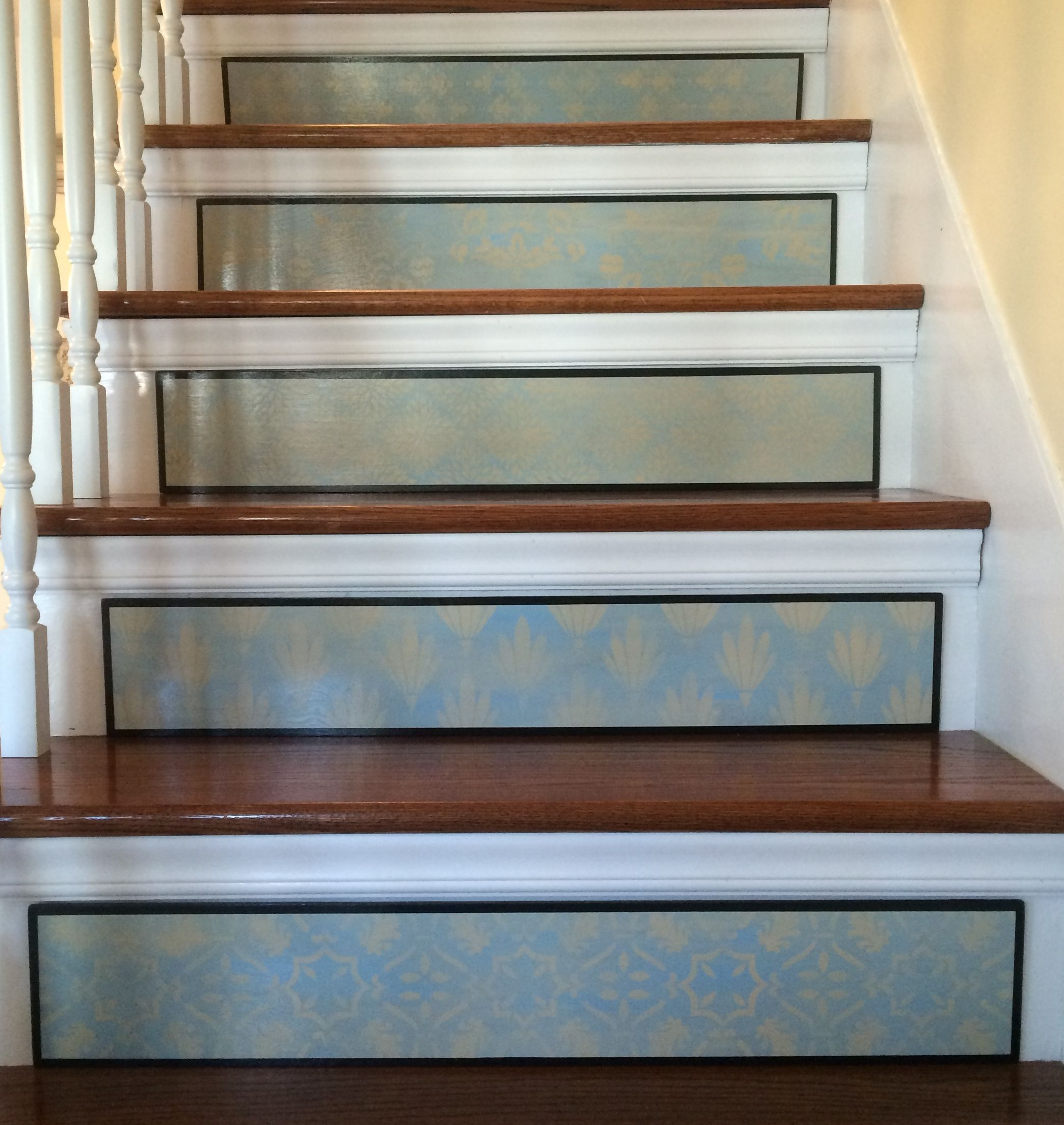 21 Attractive Painted Stairs Ideas Pictures: Pin By Tribute Designs On Stair Riser Art