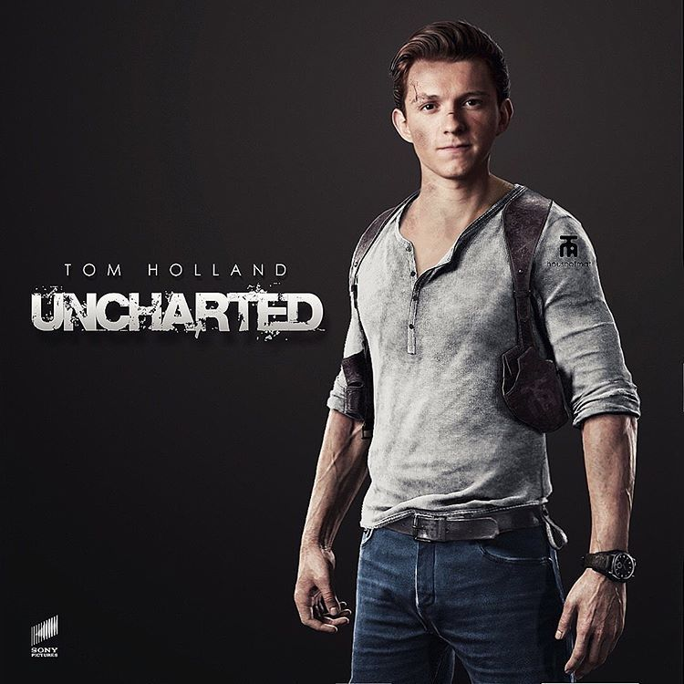 nathan drake uncharted tom holland